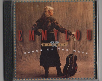 EMMYLOU HARRIS Songs Of The West CD Country 1994 Free Post Australia