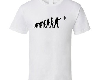 Funny Evolution Darts T Shirt