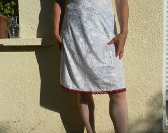 Velvet lace dress