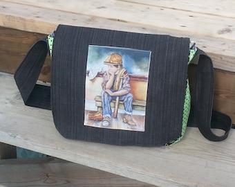 Single messenger bag