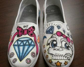 Artsy Canvas Shoe