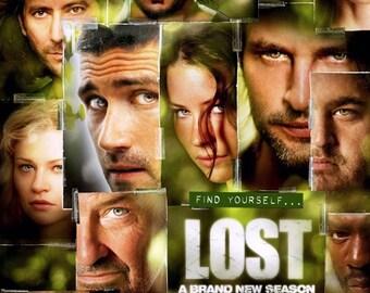 Lost TV Series Final Seaso Cast 24x34 Poster Printing