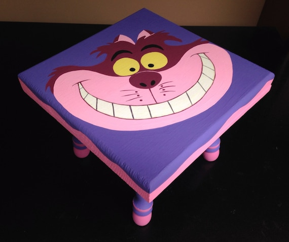 Alice In Wonderland Cheshire Cat Glow In The Dark Furniture Bedroom  Playroom Ottoman Child Seat,