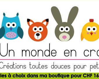 2 pairs of choice (in french PDF)