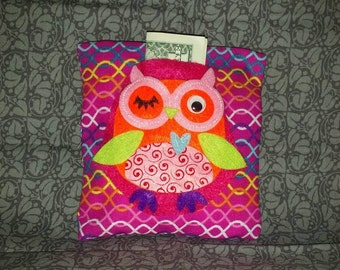 Owl Tooth Fairy Pillow For Children