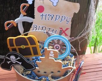 Yo Ho Ho Pirate Centerpiece Pirate Birthday Pirate