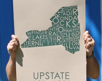 Upstate! Hunter Green on Craft Paper
