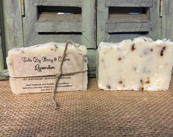Lavender Homemade Cold Processed Soap