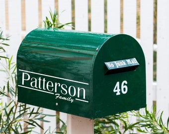Personalized Mail Box Decal