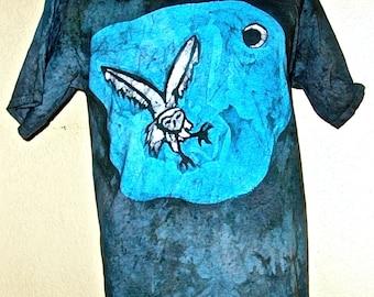 Batik Owl T-Shirt