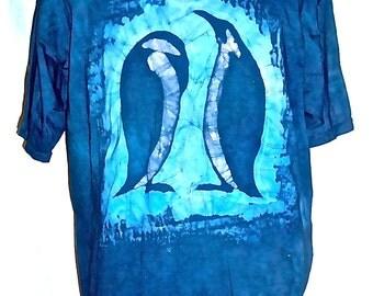 Batik Penguin T-Shirt