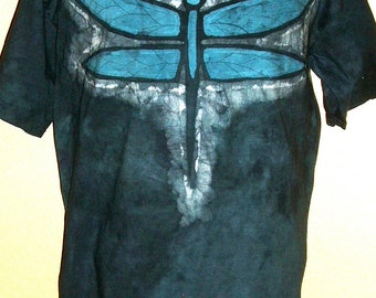 Batik Adult Dragonfly T-shirt