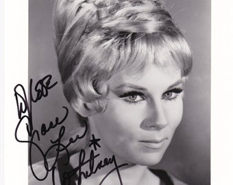 Grace Lee Whitney Yeoman Janice Rand  autograph Signed Autographed 8x10 photo with Certificate of Authenticity with free print Star Trek