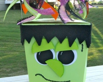 Halloween Treat Boxes, Halloween Party Favor Boxes,