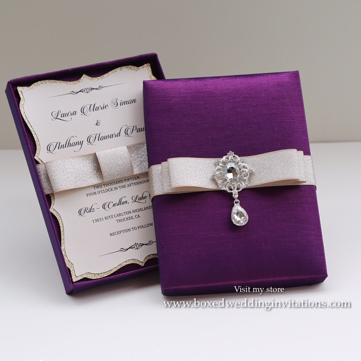 Box Wedding Invitations