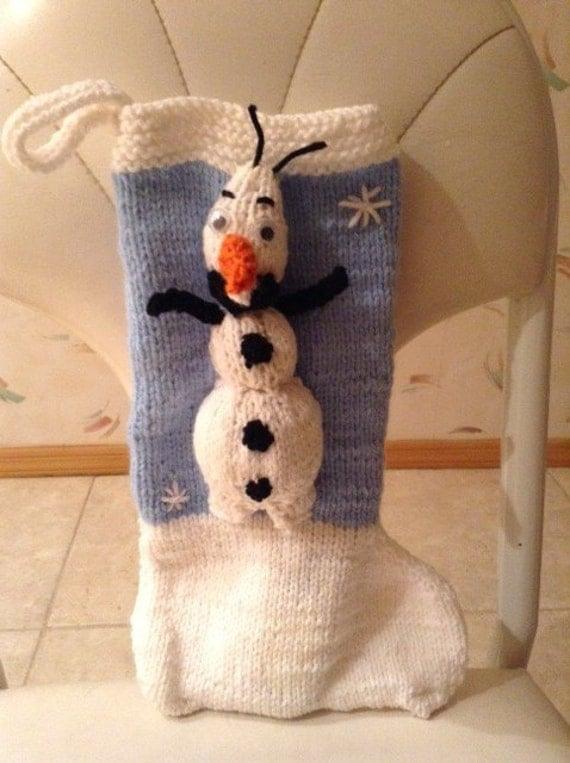 Olaf Christmas Stocking
