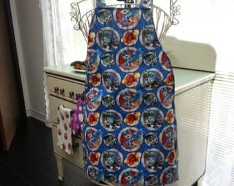 Boys Skylander apron