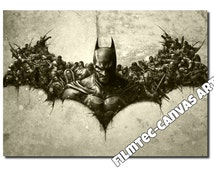 Batman Riot Logo Inspired Canvas Art(size A0, A1 & A2), NEW!