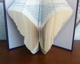 Butterfly - Folded Book Art - Fully Customizable, nature, beauty, collector,