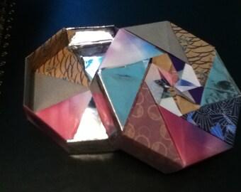 Smokey Palette Origami Box