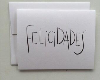 Felicidades Card (GC052101)