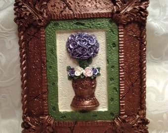 Rose Topiary Wall-hanging