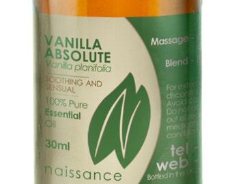Vanilla, Absolute Essential Oil