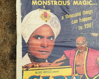 Vintage Poster Sabu and the Magic Ring