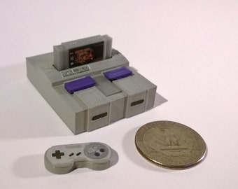 Mini Nintendo Super NES (SNES) - 3D Printed!