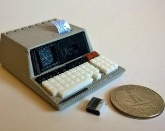 Mini Hewlett-Packard HP85 - 3D Printed!