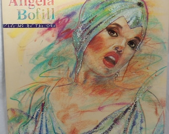 Angela Bofil - Let Me Be The One - 1984 - VG++