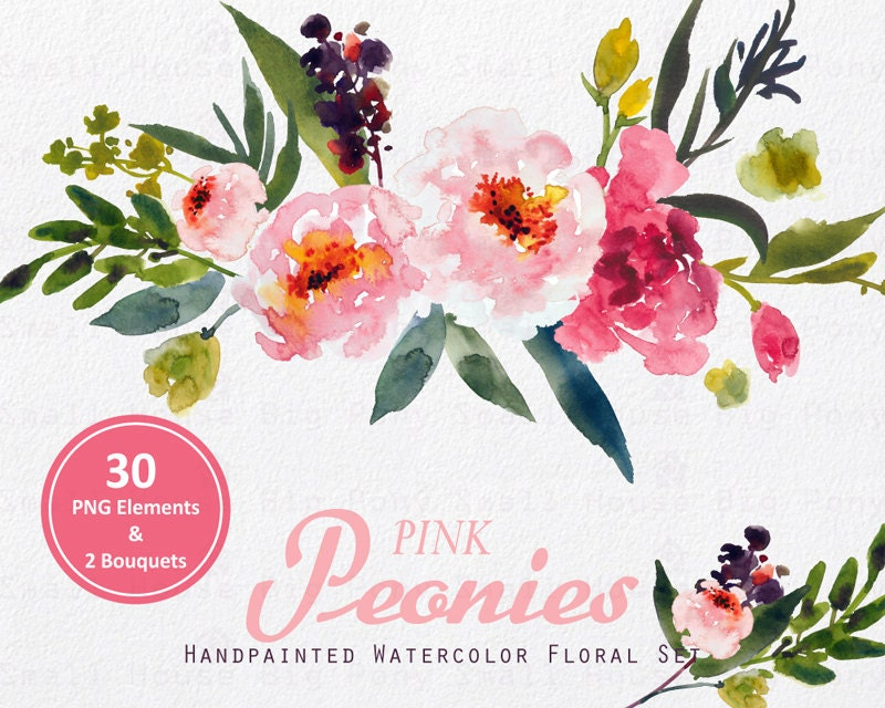 watercolor flower clipart free - photo #16