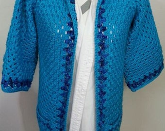 Blue Mint Lounge Jacket