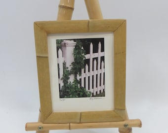 "Bamboo Countertop Display Easel, 10""D x 14""W x 24""H, BED-24"
