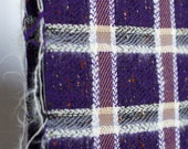 Wool and mohair purple, g...