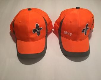 Grouse Commander Hunter Orange Reflective Hat