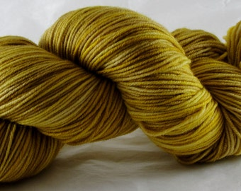 Grey Poupon - Hand Dyed  Sock Yarn