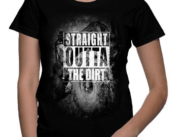 NWA JEEP tribute shirt - Straight outta the dirt