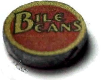 Bile Beans Tin Dolls House Miniature