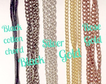 Add Chain To Your Order
