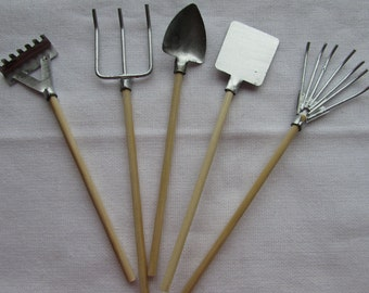 Miniature Garden Tools