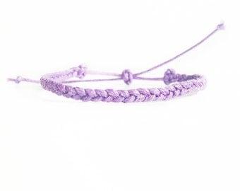 Friendship Bracelet, Braided Bracelet, Party Favors, Friendship Gift, Custom Wax Cord Bracelet