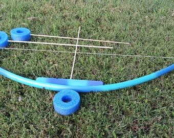 Kids arrow quiver etsy for Kids pvc bow