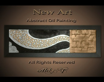 Abstract art painting. Original  modern art, palette knife  painting, wall decor  abstract art, acrylic painting mixed media.