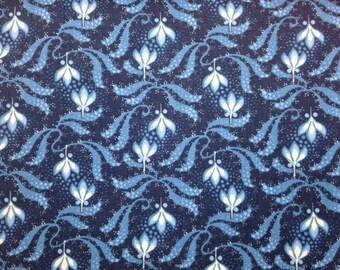 Clothworks EVERYTHING BLUE II - 100% Premium Cotton Quilt Fabric - per 1/2 yd
