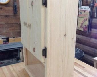 bathroom wall medicine cabinet - 2 door short