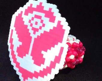 Tomorrow World tomorrowland 3D Kandi Cuff (multiple colors)