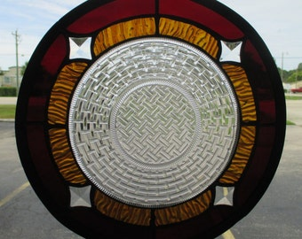 021--Stained Glass Circle
