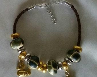 Camo Charm Bracelet