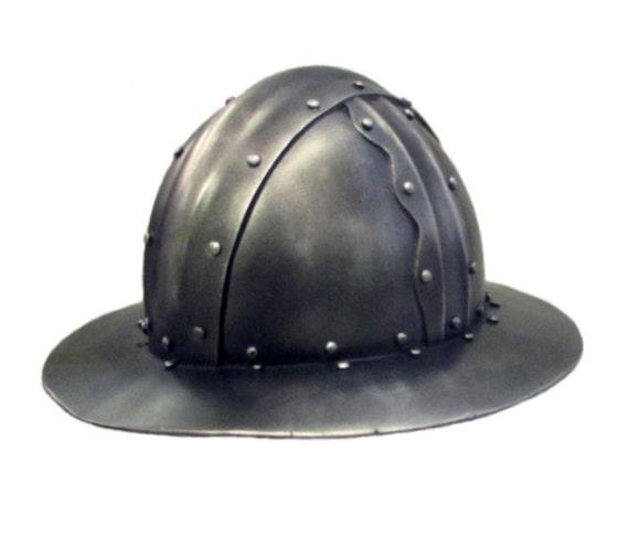 Larp Armor Kettle Hat
